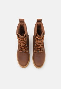 Timberland - COURMA VALLEY BOOT WP - Platform ankle boots - mid brown - 5