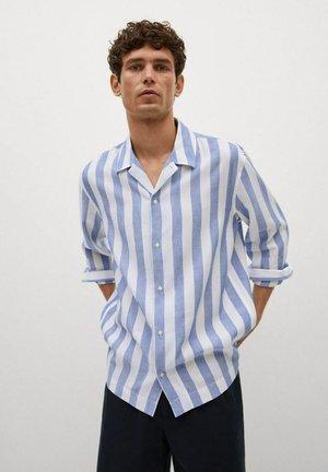 FLIESSENDES REGULAR FIT - Camisa - blau