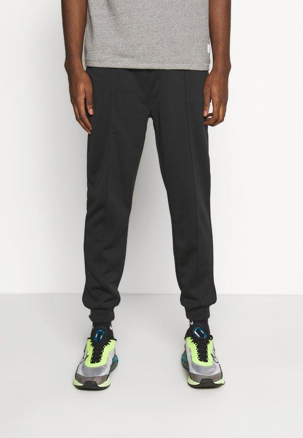 Zign Spodnie treningowe - black/czarny Odzież Męska WKBW