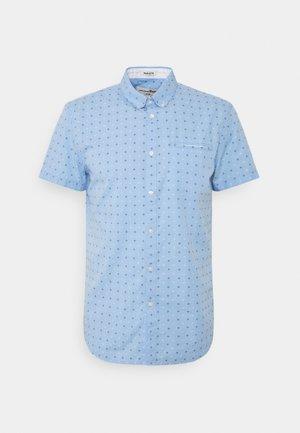 SHORT SLEEVE - Koszula - light blue