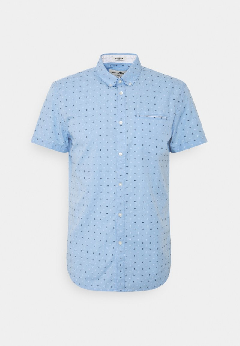 TOM TAILOR DENIM - SHORT SLEEVE - Shirt - light blue