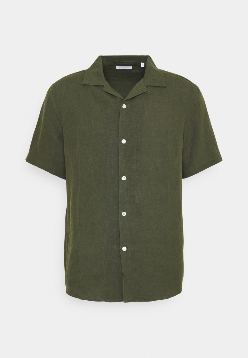 KnowledgeCotton Apparel - WAVE - Camisa - forrest night