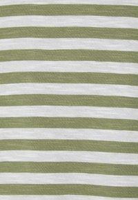 Esprit - SLUB - Print T-shirt - light khaki - 2