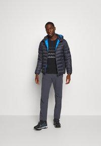 CMP - MAN JACKET ZIP HOOD - Winter jacket - antracite - 1