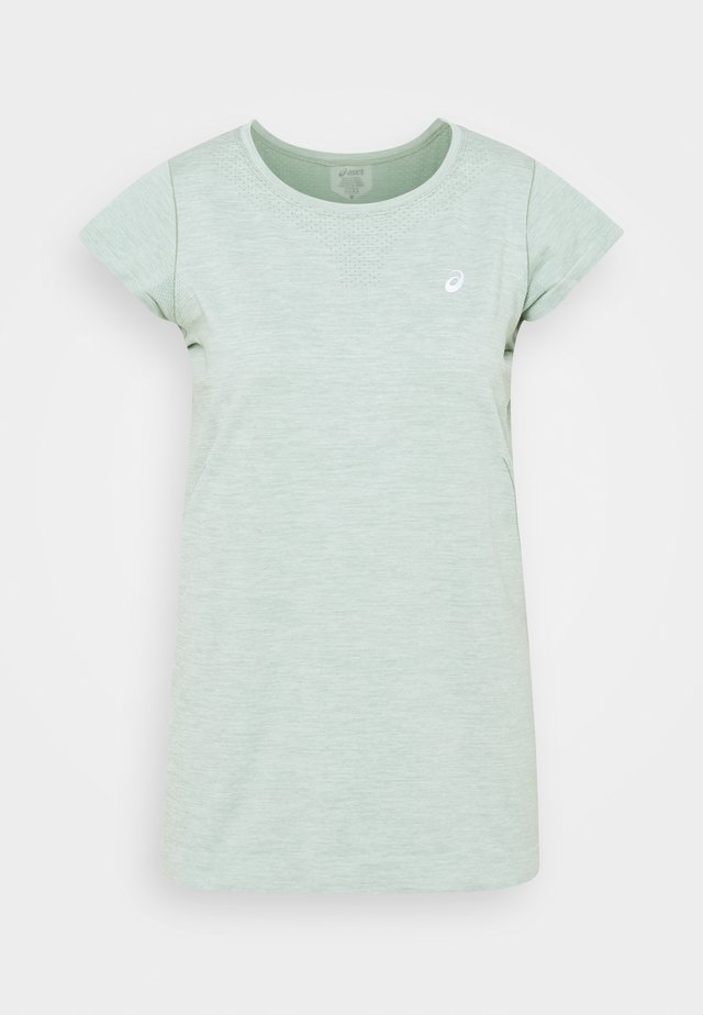 RACE SEAMLESS - T-shirt basic - slate grey