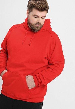 BLANK HOODY - Luvtröja - red