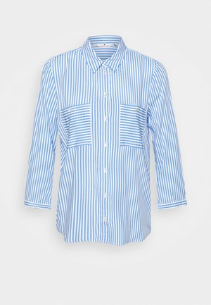 BLOUSE PRINTED STRIPE - Skjorte - blue