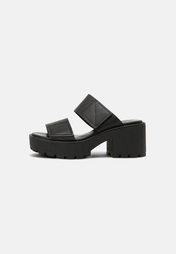 DIOON - Heeled mules - black