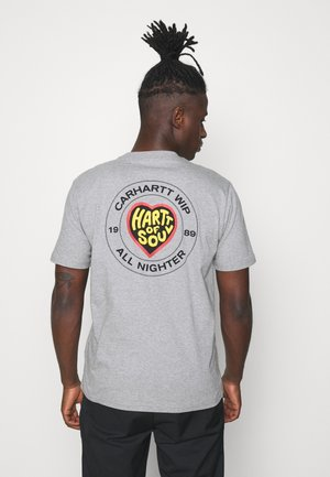 HARTT OF SOUL - T-shirt med print - grey heather