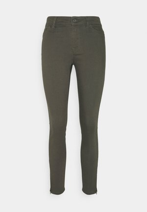 VMHOTSEVEN ZIP PANTS - Jeans Skinny Fit - beluga