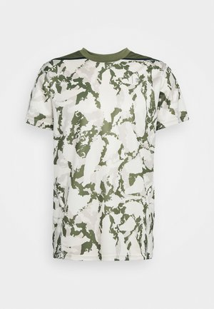 FIRST MILE CAMO TEE - T-shirt med print - pebble