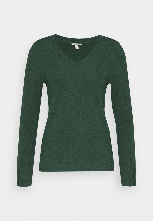 Longsleeve - dark green