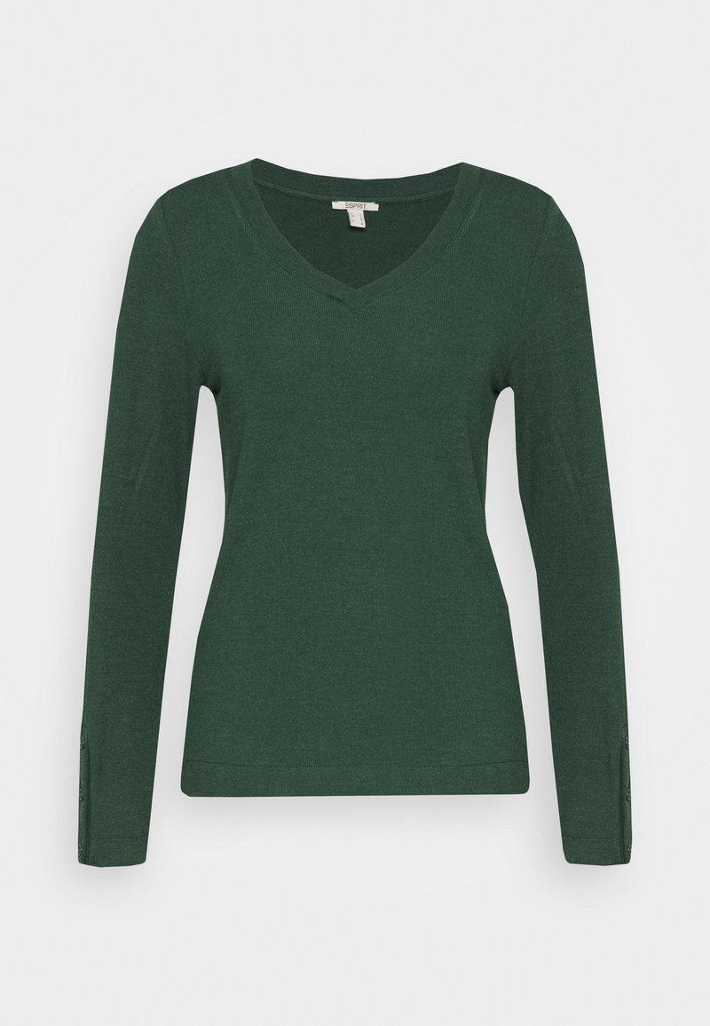 Esprit - Long sleeved top - dark green