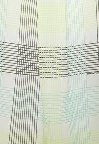 KARL LAGERFELD - ORGANZA BACK - Print T-shirt - white - 2