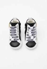 MOSCHINO - Sneakers high - black - 3