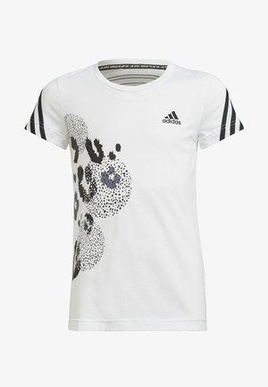 GRAPHIC - Print T-shirt - white, black