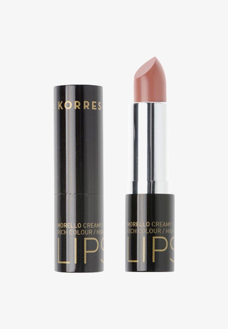 Korres - MORELLO LIPSTICK - Lipstick - honey nude 04