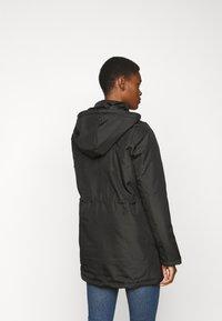 Noisy May Tall - NMOCTAVIA LONG JACKET - Winter coat - black - 3