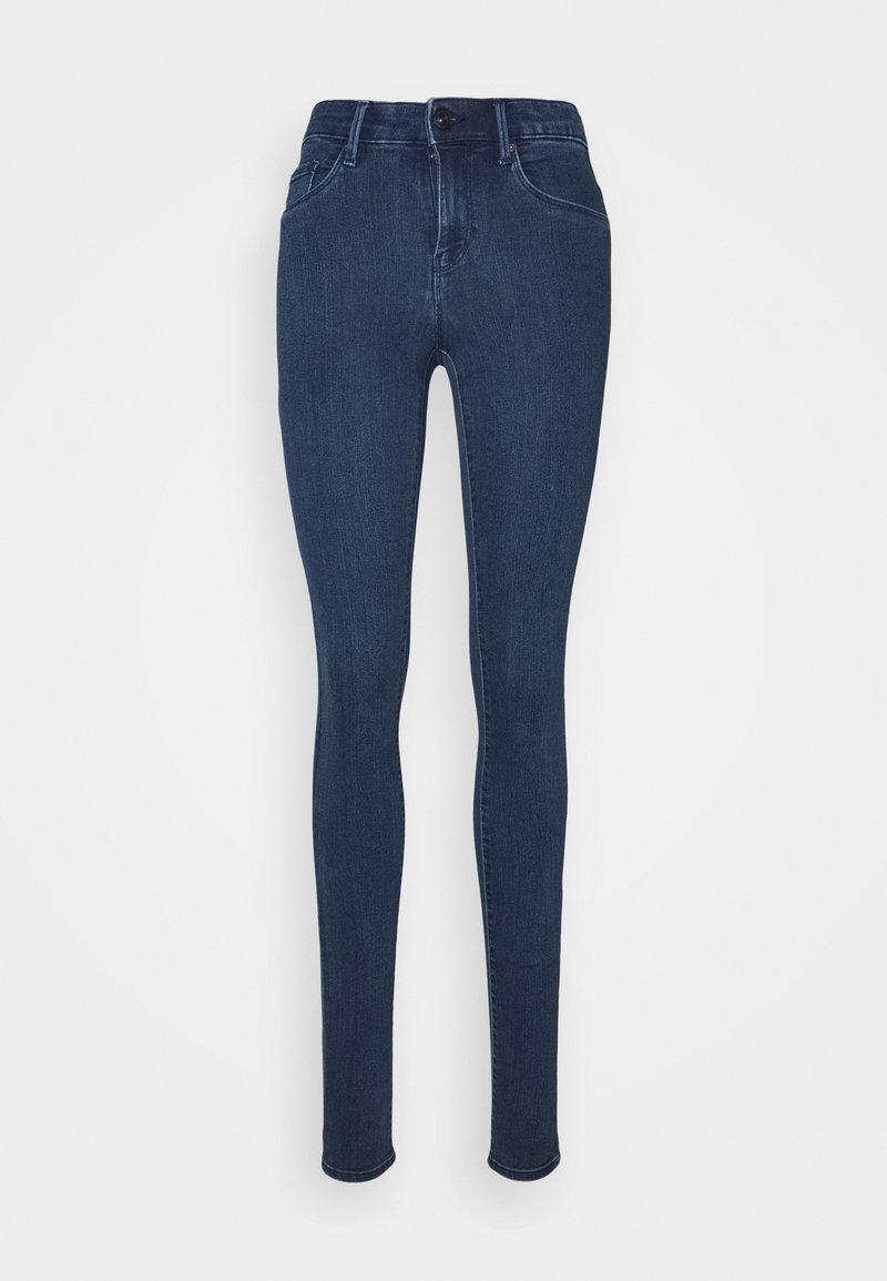 ONLY Tall - ONLRAIN LIFE - Jeans Skinny Fit - dark blue denim