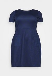 CAPSULE by Simply Be - POCKET SHIFT - Kjole - navy - 4
