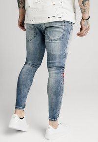 SIKSILK - LOW RISE FUSION - Jeans Skinny Fit - midstone - 2