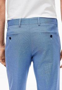 s.Oliver BLACK LABEL - Suit trousers - blue - 5
