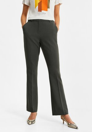 Trousers - greyish green