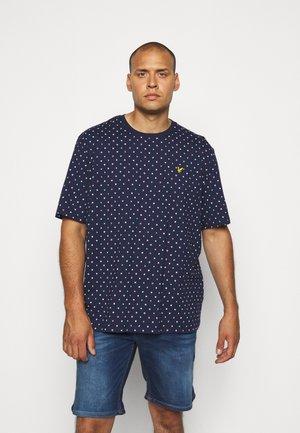 FLAG PRINT - Print T-shirt - navy