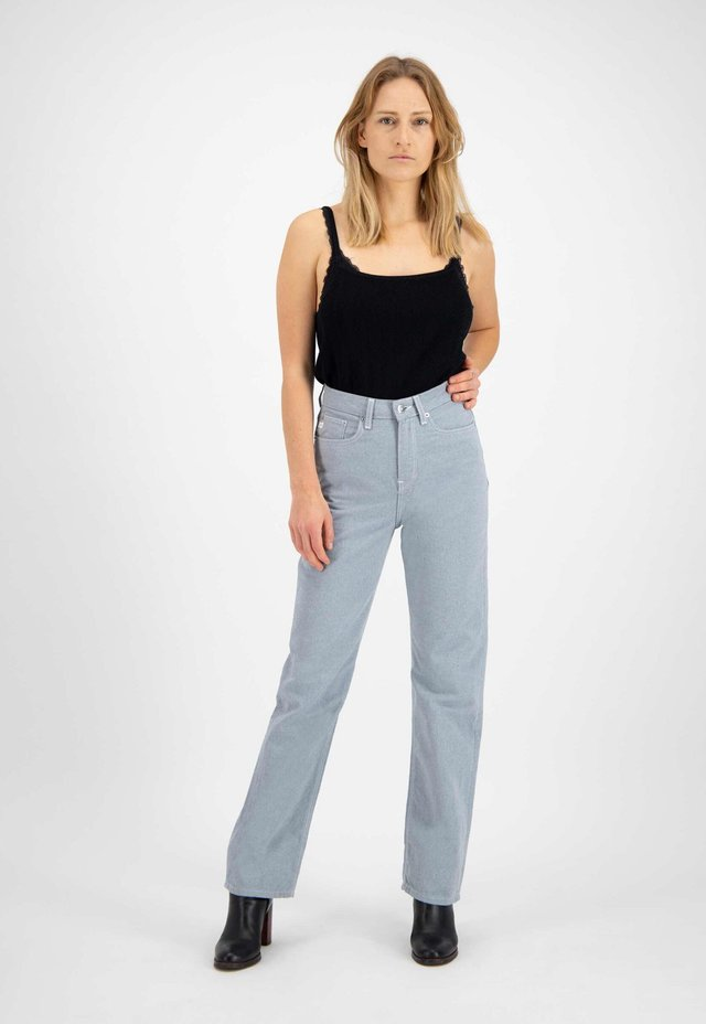 Straight leg jeans - undyed