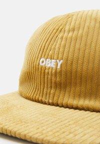 Obey Clothing - BOLD STRAPBACK UNISEX - Cap - khaki - 3