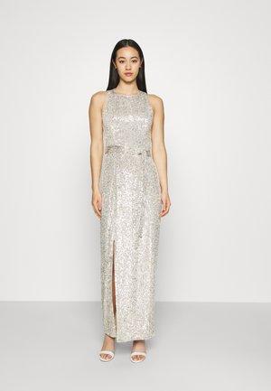 ZAHARA SEQUIN MAXI - Occasion wear - silver