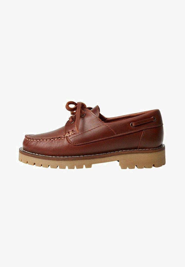 Mango - Boat shoes - marron