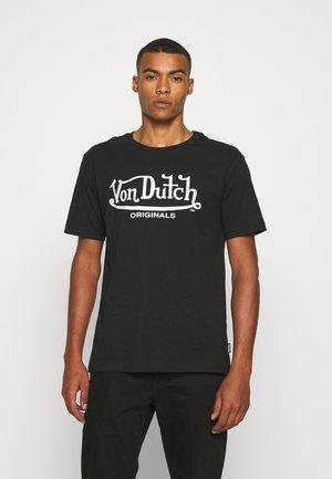 LENNON - T-shirt print - black