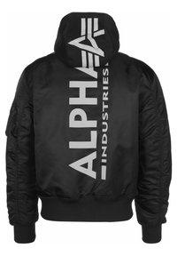 Alpha Industries - Bomber Jacket - black reflective - 1