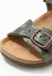 Geox - GHITA BOY - Sandals - military - 2