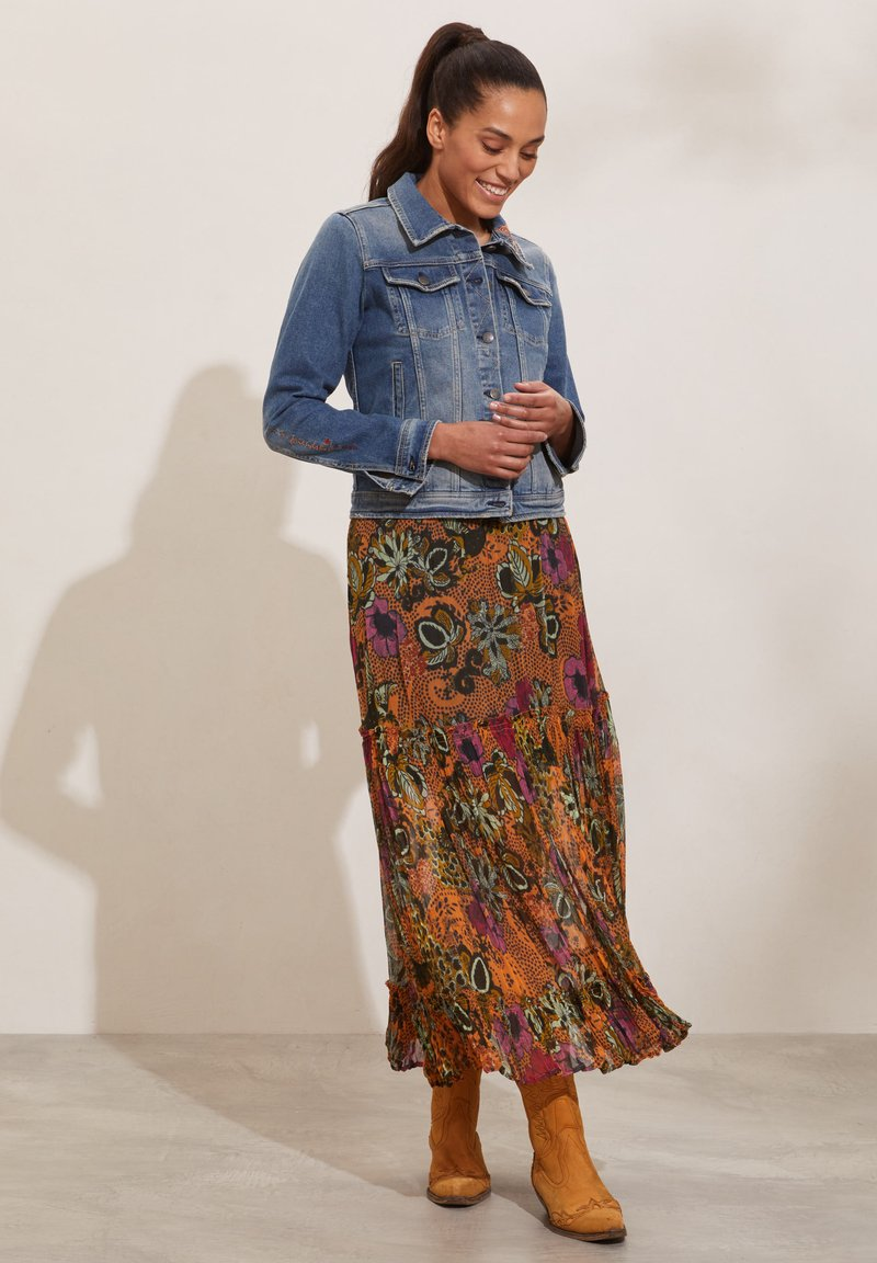 Odd Molly - A-line skirt - apricot tan