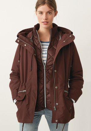 3-IN-1 - Parka - berry