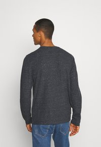 Tommy Jeans - POCKET TEE - Long sleeved top - black heather - 2
