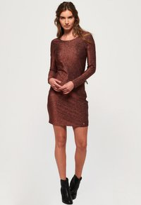 Superdry - Cocktail dress / Party dress - copper - 1