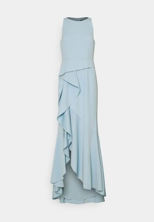 CASCADE GOWN - Vestido de fiesta - blue mist