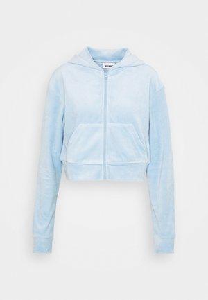JUNO ZIP HOODIE - Zip-up sweatshirt - light blue