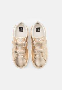 Veja - SMALL ESPLAR  - Sneakers laag - platine/white - 3