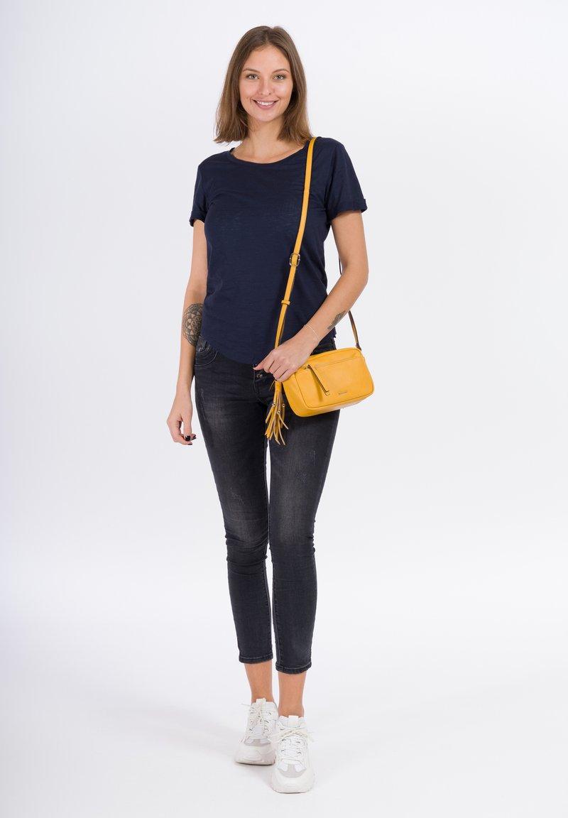 Tamaris - ADELE - Across body bag - yellow
