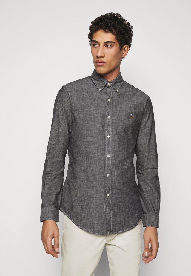 CHAMBRAY - Shirt - light grey
