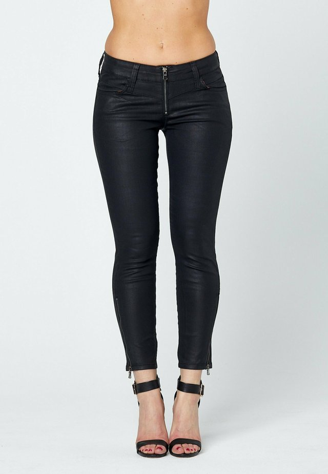 Jeans Skinny Fit - coated denim