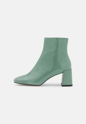 Kotníkové boty - green
