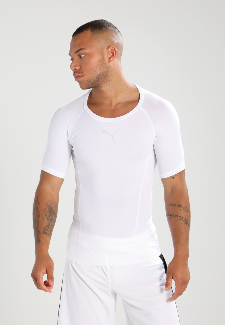 Puma - LIGA BASELAYER TEE  - Hemd - white