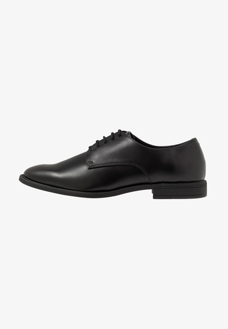 Pier One - Zapatos con cordones - black