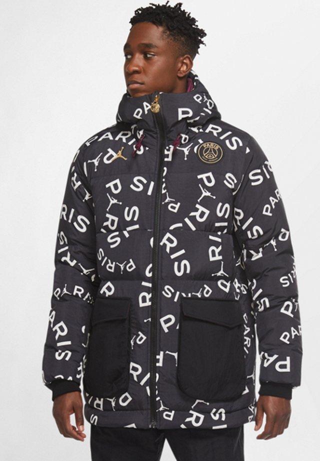 Down jacket - schwarzrotweissgold