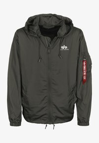Alpha Industries - WINDBREAKER - Windbreaker - greyblack - 0